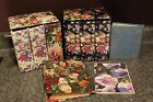 LOT: 9 MINI PHOTO ALBUMS FOR 4X6/3X5 PICTURES- FLORAL/CHRISTMAS- MOST NEW/UNUSED