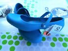 CROCS ALICE MARY JANE SHAYNA GRACE CASUAL SLIP ON SLIDE SHOE Blue W 10 NWT