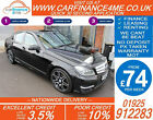 2013 MERCEDES C220 CDI AMG SPORT GOOD BAD CREDIT CAR FINANCE FROM 74 P WK
