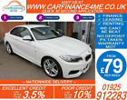 2014 BMW 218D 20 TD M SPORT GOOD BAD CREDIT CAR FINANCE FROM 79 P WK