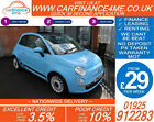 2010 FIAT 500 12 LOUNGE GOOD BAD CREDIT CAR FINANCE AVAILABLE