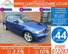 2010 BMW 118D 20 TD SPORT GOOD BAD CREDIT CAR FINANCE AVAILABLE