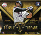 2016 Topps Triple Threads Baseball SEALED HOBBY BOX