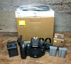 Nikon D90 123MP Digital SLR Camera Black Body 10K Shutter Count
