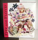 Fitz and Floyd Cookie Jar with Lid Candy Lane Express Gingerbread House Musical
