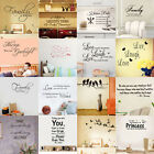 45 Styles DIY Removable Art Vinyl Wall Sticker Decal Mural Quote Home Room Decor