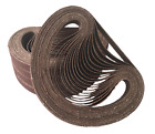 Dynafile/Powerfile Aluminium Oxide 13x457mm Belts P40, P60, P80, P120-Pack of 10