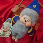 1980s Toy Television program Monchhichi's / Wizards  Rare Mage enamel character
