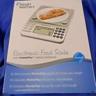 Weight Watchers Electronic Food Scale Points Plus 2011 Factory Sealed