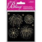 Jolees Boutique Embellishments Stickers Fireworks Gold 1078