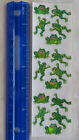 Sandylion FROGS PRISMATIC RETIRED Stickers Sitting Jumping Frogs VERY RARE