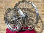 80 TWISTED SPOKE CHOPPER CUSTOM 21x215  16x3 WHEELS FOR HARLEY PARTS