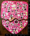 MINNIE MOUSE DAISY DUCK MICKEY MOUSE BY DISNEY 2 SHEETS STICKERS MINNIE44