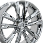19 Chrome RX350 F Sport Wheels 19x75 Set of 4 Rims Fit Lexus OEW