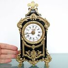 JAPY FRERES Antique Baby ALARM TOP Clock Mantel EXTREMELY RARE Neuchatel French