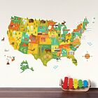 Petit Collage Wall Decal Usa Decals Stickers Vinyl Art Home Dcor Garden