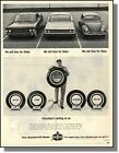 1965 Cadillac Ford Volkswagen - Amoco Tire Photo Ad
