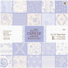 Papermania Single Sided Paper Pack 12X12 32Pkg French Lavender32 Designs 1Each