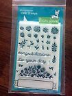 NEW Lawn Fawn stamp set Penelopes Blossoms FLOWERS