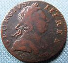 1773 King George III British US Colonial Halfpenny Copper -Nice Detail Non Regal