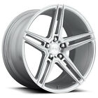 Niche M170 Turin 18x8 5x108 +40mm Silver Machined Wheel Rim