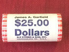 2011 D James A Garfield Presidential 1 Coin Head Tails Roll FREE SHIPPING