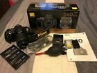 Nikon D40 61MP Digital SLR Camera Kit 18 55mm VR Lens 4K on shutter Excellent