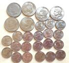 Lot of 26 Eisenhower Silver Dollars and Susan B Anthony Dollars, Beautiful!