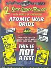 ATOMIC WAR BRIDE THIS IS NOT A TEST NEW DVD