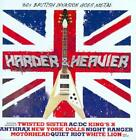 VARIOUS ARTISTS - HARDER AND HEAVIER: 60'S BRITISH INVASION GOES METAL NEW CD