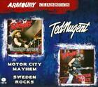 TED NUGENT - MOTOR CITY MAYHEM/SWEDEN ROCKS NEW CD