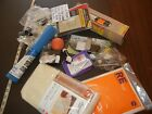 Assorted Junk Drawer Lot misc stuff household MIXED STUFF LARGE LOT Rug savers