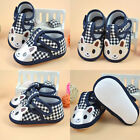 Toddler Baby Shoes Newborn Boys Girls Soft Soled Princess Crib Shoes Prewalker