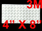 3M Double Sided Transparent Adhesive Sheet Tape Heavy Duty Super Sticky 4 X 8