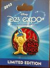 D23 Expo Mickey Mouse Pin Limited Edition of 1000 Disney Stained Glass Pin New!