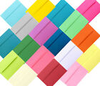 Assorted Multi Colors 50 Boxed A6 Envelopes for 4 x 6 Photos Invitations Showers