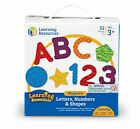 Learning Resources Magnetic Letters Numbers  Shapes LER7724