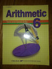 Abeka Arithmetic 6 Tests and Speed Drills Teacher Key