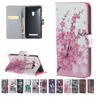 Patterned Stand PU Leather Wallet Flip Card Pocket Case Cover For Samsung Galaxy
