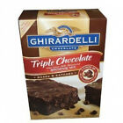 Ghirardelli Triple Chocolate Chip Brownie Mix, 120-Ounce 7.5 lb makes 6 batches