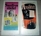 INGMAR BERGMAN two rare Swedish posters Wild Strawberries The Magician