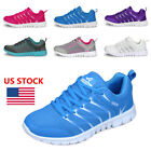 US Womens Athletic Breathable Sneakers Sport Casual Running Mesh Shoes Trainers