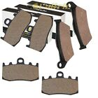 FRONT REAR BRAKE PADS FIT BMW R1200RT 2006-2013 / R1200S R1200ST 2005-2008