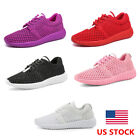 US Women Mesh Breathable Athletic Running Sport Tennis Shoe Sneakers Trainers