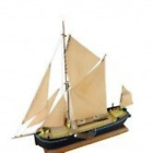 Plan and Fittings Kit to Build static Wooden Model of Thames Sailing Barge 1:82