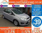 2012 FORD GRAND C MAX 16 ZETEC GOOD BAD CREDIT CAR FINANCE AVAILABLE