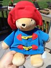 11 Paddington Bear Super Soft Plush Stuffed Animal KIDS GIFTS Red Hat Blue Coat