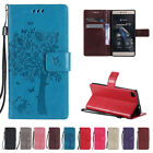 Patterned Tree PU Leather Wallet Flip Stand Card Case Cover For Samsung Galaxy