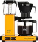 Moccamaster KBG 10 Cup Coffee Maker Brewer Machine + Glass Carafe Yellow Pepper