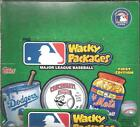 2016 Topps Wacky Packages Major League Baseball Hobby Box 24 Packages